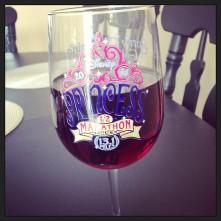 my glass if DEFINITELY half full (of wine no less!)