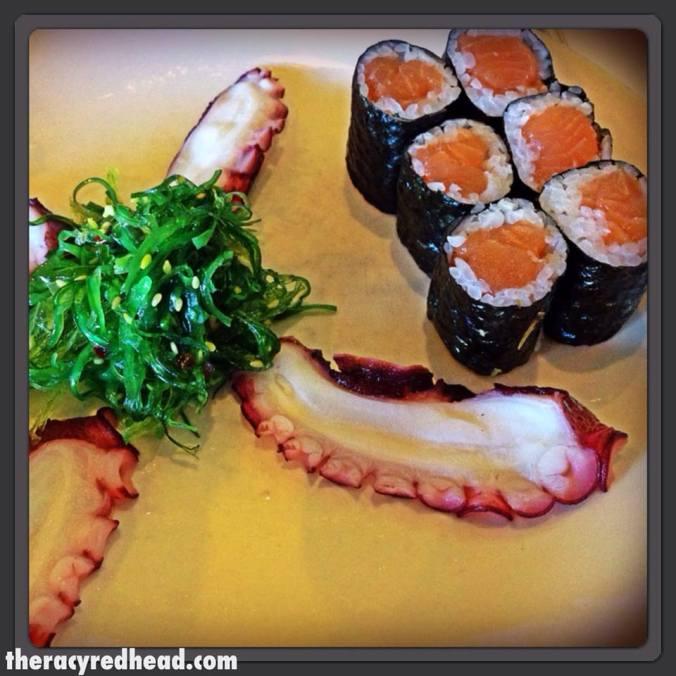 post race sushi!
