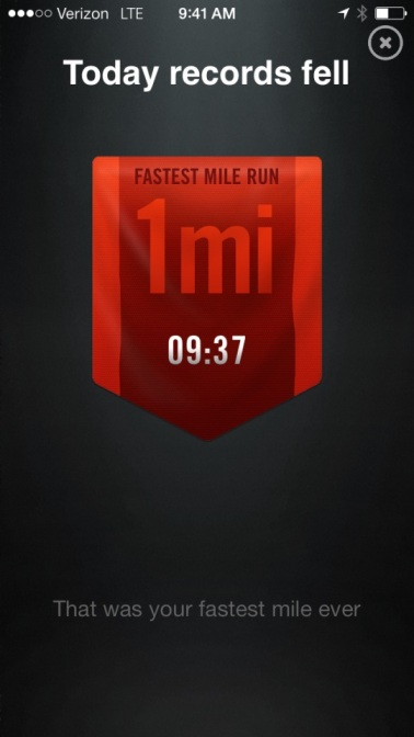BUT i PR'd (person record) my mile today!!!!  w00ts!!!!