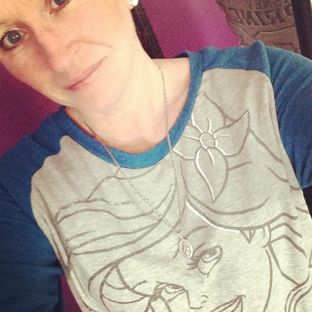 my little mermaid shirt -- love this shirt so much -- i might wear it a bit too much!