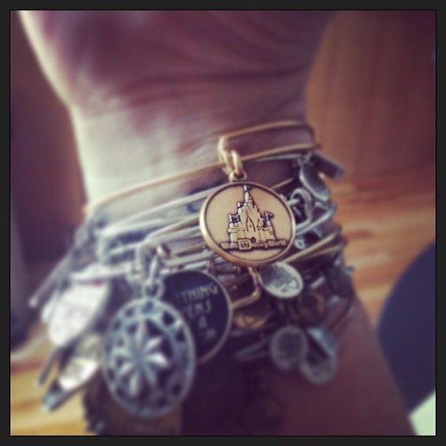 alex & ani disneyworld bangle !!!